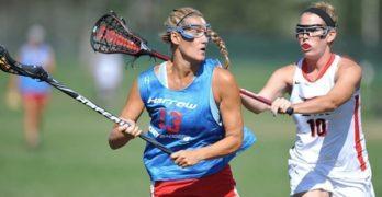 Should female lacrosse players wear helmets?